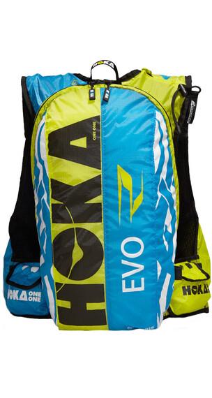 Hoka One One Evo R - Mochila - amarillo/azul